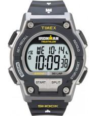Timex T5K195 Mens cinza ironman choque resistir relógio do esporte de 30 voltas