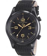 Elliot Brown 202-008-L11 Mens Canford pulseira de relógio de couro preto