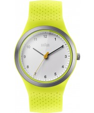 Braun BN0111WHGRL Senhoras esportes silicone verde pulseira de relógio