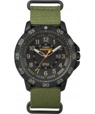 Timex TW4B03600 Mens expedição Gallatin nylon verde relógio de pulseira