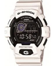 Casio GR-8900A-7ER Mens g-shock tempo do mundo branco relógio movido a energia solar