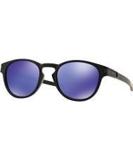 Oakley Oo9265-06 fosco trava preta - óculos de sol violeta irídio