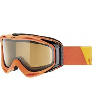Uvex 5502143021 G.gl 300 decolar de laranja - polavision marrom óculos de esqui
