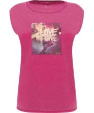 Dare2b DWT327-1Z016L Ladies repousante rosa elétrica t-shirt - o tamanho uk 16 (xl)