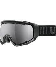 Uvex 5504322026 Jakk esférica preto - óculos de esqui Black Mirror