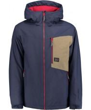 Oneill 650024-5056-M Mens sugestão de tinta casaco azul - tamanho m