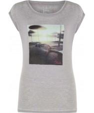 Dare2b Ladies restful ash grey marl t-shirt