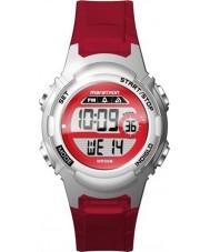 Timex TW5M11300 Senhoras resina vermelha maratona pulseira de relógio
