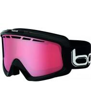Bolle 21333 Nova II pretos brilhantes - polarizada óculos vermillon de esqui