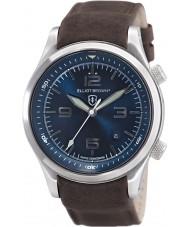 Elliot Brown 202-007-L07 Mens Canford couro marrom pulseira de relógio