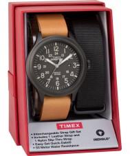Timex TWG016200 Jogo de presente para relogio de expedição expedição masculina