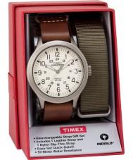 Timex TWG016100 Jogo de presente para relogio de expedição expedição masculina