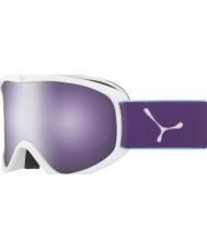 Cebe CBG60 Striker m branco e violeta - rosa escuro óculos de esqui espelho do flash