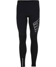 Newline 10439-060-M compressão das senhoras meias pretas - tamanho M