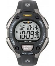Timex T5E901 Preto ironman 30 voltas relógio do esporte em tamanho grande