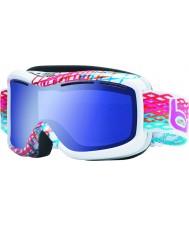 Bolle 20940 Monarch diamante branco - Aurora óculos de esqui azuis