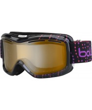 Bolle 21062 Monarch contas cor de rosa preto - óculos de esqui modulador citrus arma